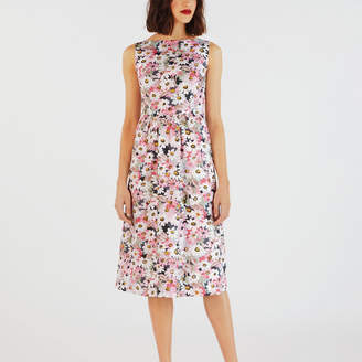 Cath Kidston Painted Daisy Cotton Sleeveless Dress