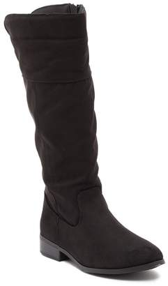 Steve Madden Mighty Faux Suede Riding Boot (Little Kid & Big Kid)