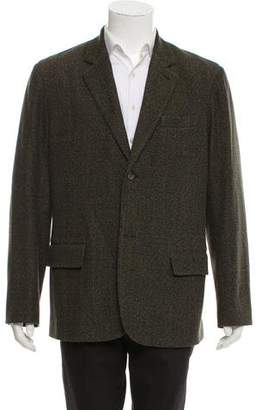 Theory Tweed Two-button Blazer