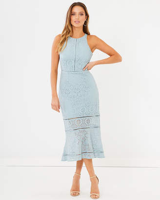 Alette Lace Midi-Dress
