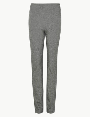 Marks and Spencer Jersey Herringbone Slim Fit Trousers