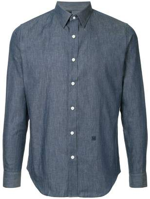 N. Hoolywood long-sleeve fitted shirt