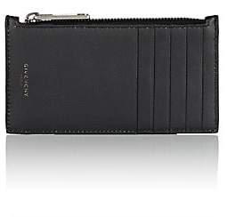 Givenchy Men's Leather Zip Card Case - Black