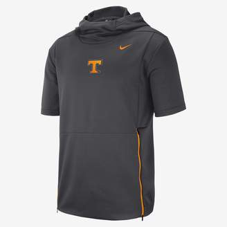 Nike College Dri-FIT Therma (Oregon) Men's Hooded Short Sleeve Top