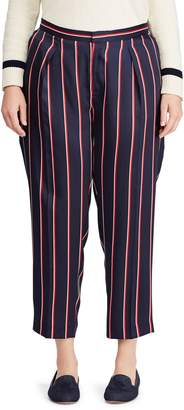 Lauren Ralph Lauren Plus Stripe Twill Pants