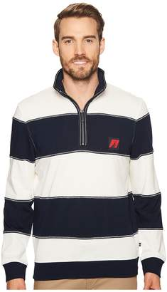 Nautica Long Sleeve 1/2 Zip Pullover Sweater Men's Sweater
