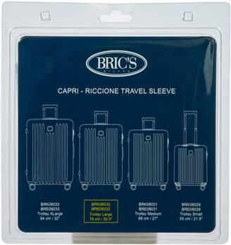 Bric's Transparent Custom Cover for 30-Inch Riccione/Capri Spinner Trunks
