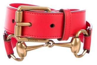 Gucci 2018 Horsebit Waist Belt w/ Tags