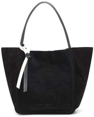 8bc56202125d Proenza Schouler Extra Large suede tote