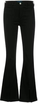 MiH Jeans Marrakesh sneaker split jeans