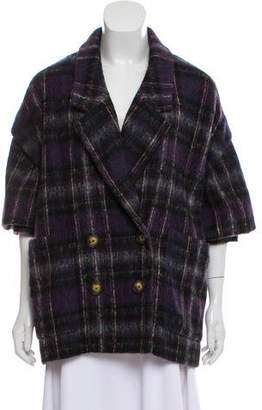 Jason Wu Wool Short Sleeve Jacket