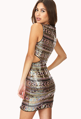 Forever 21 Sweet Escape Sequined Dress
