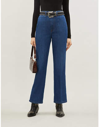 Reformation Willow high-rise flared jeans