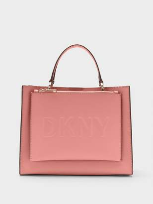 DKNY Mott Leather Medium Shopper