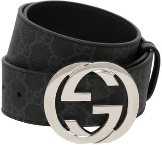 Gucci 40mm Gg Supreme Leather Belt