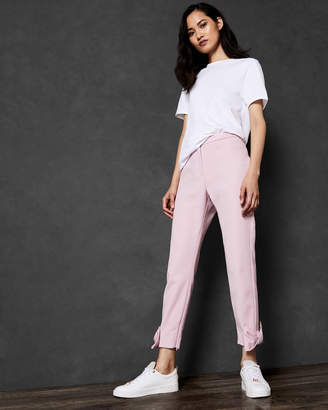 Ted Baker TOPLYT Bow cuff ankle grazer trousers
