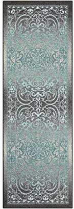 Maples Rugs Runner Rug - Pelham 24'x72' Non Skid Hallway Carpet Entry Rugs Runners [Made in USA] for Kitchen and Entryway