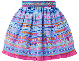 Monsoon Otylia Stripe Skirt
