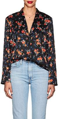 A.L.C. Women's Leomie Floral Stretch-Silk Blouse