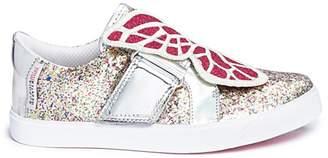 Sophia Webster 'Bibi Low Top Mini' butterfly leather toddler sneakers