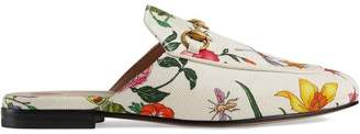 Gucci Princetown Flora print canvas slipper