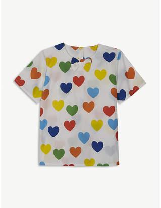 Mini Rodini Rainbow love blouse 4-11 years