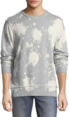 PRPS Bleached Distressed-Edge Sweatshirt