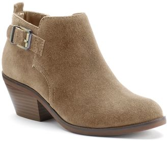 SONOMA Goods for LifeTM Women's Suede Ankle Boots $74.99 thestylecure.com