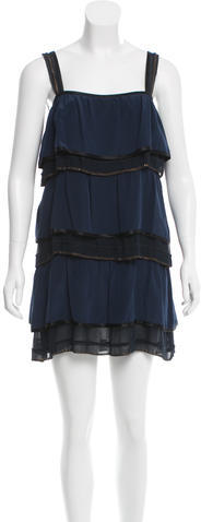 Marc Jacobs Marc Jacobs Embellished Silk Dress