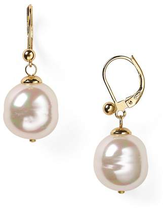 Majorica Baroque Simulated Pearl Drop Earrings