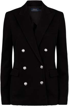 Ralph Lauren Knitted Double-Breasted Blazer