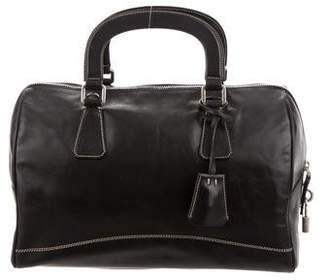 Prada Nappa Leather Satchel