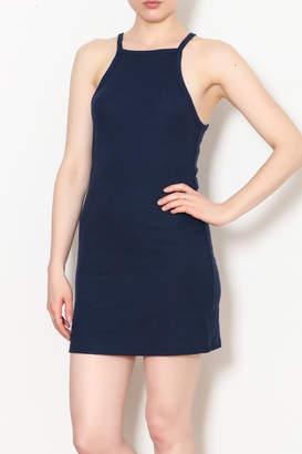 Double Zero Rib-Knit Tank Dress