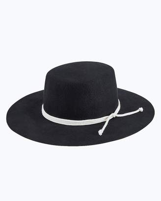 Express San Diego Hat Company Wool Felt Wide Brim Boater