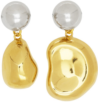 Aalto Mounser Gold Mini Mismatched Earrings