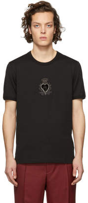 Dolce & Gabbana Black Heart T-Shirt
