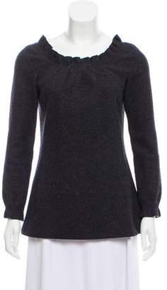 Marc Jacobs Wool Long Sleeve Top