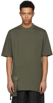D by D Khaki Front Pocket T-Shirt
