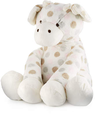 Little Giraffe Big G Plush Polka-Dot Giraffe, Pink
