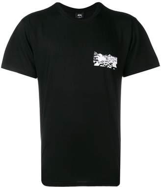 Stussy printed casual T-shirt