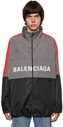 Balenciaga Nylon Ripstop Shirt Jacket