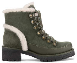 Tory Burch Cooper Shearling Booties