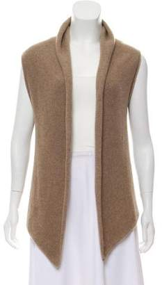 Barneys New York Barney's New York Cashmere Open Front Knit Cardigan