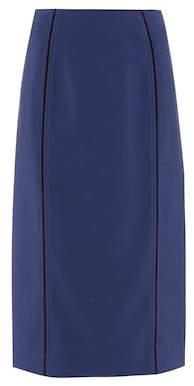 Fendi Piped pencil skirt