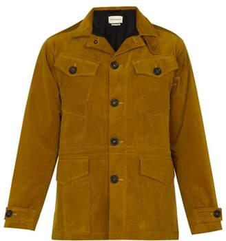 Oliver Spencer Photographer's Cotton Blend Corduroy Jacket - Mens - Brown