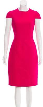 Michael Kors Cap Sleeve Knee-Length Dress