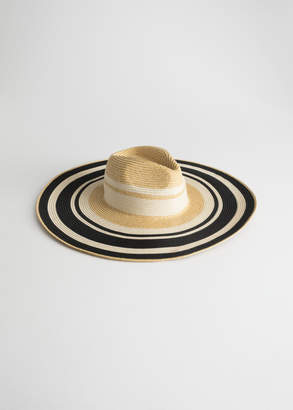 And other stories Wide Brim Straw Hat