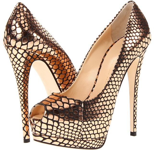 Giuseppe Zanotti E36052 (Faraone Salmone) - Footwear