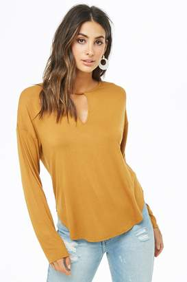 Forever 21 Cutout Dolman Top