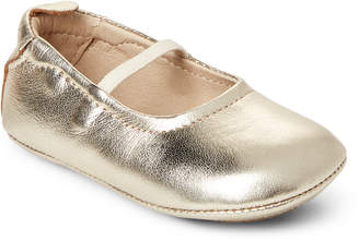 Old Soles Toddler Girls) Metallic Leather Ballet Flats